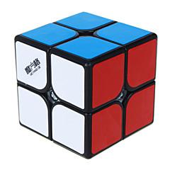 Qiyi® Cube de Vitesse  2*2*2 Cubes magiques Jouet Educatif Arc-en-ciel Noir Blanc Autocollant lisse guerrier Anti-pop ressort réglable ABS