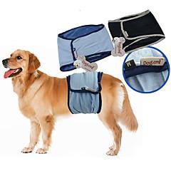 Perros Pantalones Azul / Negro Ropa para Perro Verano / Primavera/Otoño Un Color Casual/Diario