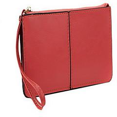 Travel Bag Passport Holder & ID Holder Passport Cover Passport Wallet Sealed for Women's Travel Storage Genuine Leather-Rose Red Green