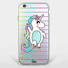 Happy Unicorn  TPU Case For Iphone 7 7Plus 6S/6 6Plus/5S SE