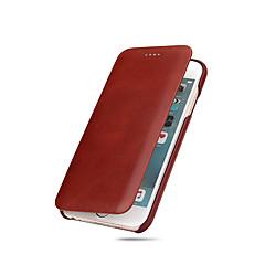 Voor iPhone X iPhone 8 iPhone 8 Plus iPhone 7 iPhone 7 Plus iPhone 6 Hoesje cover Ultradun Volledige behuizing hoesje Effen Kleur Hard