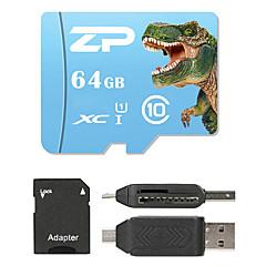 ZP 64GB MicroSD Class 10 80 Other Stwardnienie w jednym czytnikiem kart Czytnik kart Micro SD Czytnik kart SD ZP-1 USB 2.0