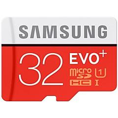 SAMSUNG 32GB Micro SD kort TF Card hukommelseskort UHS-I U1 Class10 EVO PLUS EVO+