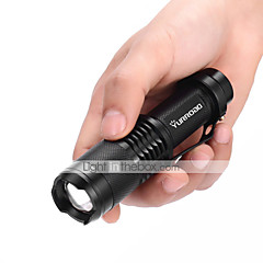 Yurroad Mini CREE XM-L T6 Led Flashlight Zoomable Super Bright Penlight 5 Modes Waterproof Adjust Focus Handheld Torch Linterna/lanterna Light