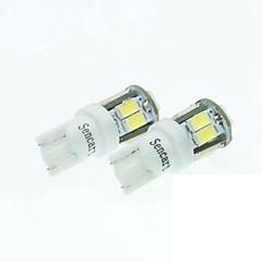 t10 149 W5W 11led 5730smd hvid 5w 240-280lm 6000-6500k dc12-16v bredde lys