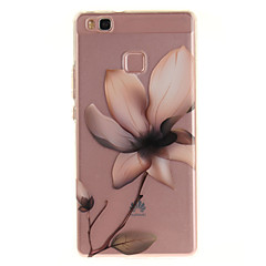 For Huawei P9 Lite P8 Lite Y6 II Enjoy 5 Honor 8 TPU Material IMD Process Magnolia Pattern Phone Case