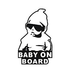 15*9CM/ Cool Baby on Board Car Sticker Motorcycle Sticker