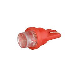 10 X T10 LED Car Side Light Bulb Lamp DC 12V 0.35W (White/Red)