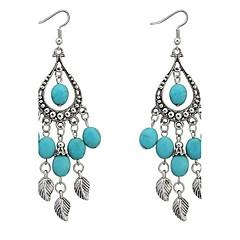 Κρεμαστά Σκουλαρίκια Ρητίνη Κράμα Μοντέρνα Κρεμαστό Μπλε Κοσμήματα Καθημερινά 1 ζευγάρι