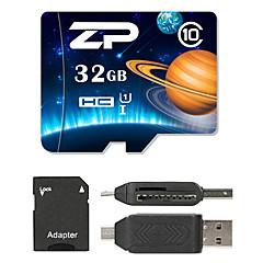 ZP 32GB MicroSD Sınıf 10 80 Other bir kart okuyucu Çoklu Micro SD kart okuyucu SD kart okuyucu ZP-1 USB 2.0