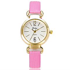 Women's Fashion Wrist Quartz Casual Small Cute Originality Personality Round Alloy Dial Watch Cool Watch Unique Watches