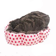 Gato Perro Camas Mascotas Mantas Portátil Rosa Tejido