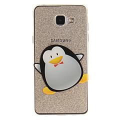 Mert IMD Átlátszó Minta Case Hátlap Case Állat Puha TPU mert Samsung A5(2016) A3(2016) A5 A3