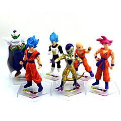 Rysunki Anime akcji Zainspirowany przez Dragon Ball Goku Anime Akcesoria do Cosplay postać Złoty PVC (polichlorek winylu)