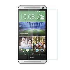 huyshe helppo asentaa naarmuuntumaton vesitiivis anti-sormenjälki karkaistu lasi näytönsuoja HTC One m9
