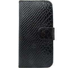 Για Θήκη καρτών Ανοιγόμενη tok Πλήρης κάλυψη tok Γραμμές / Κύματα Σκληρή Συνθετικό δέρμα για Samsung S3