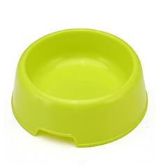 Cane Ciotole & Bottiglie Mangiatoie Animali domestici Ciotole e alimentazione Portatile Verde Plastica