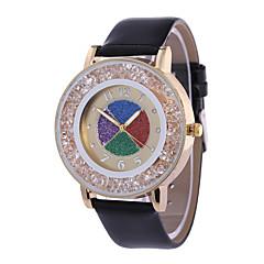 Women's Fashion Watch Wrist watch Quartz PU Band Black Blue Red Green