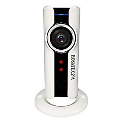 HOSAFE 1 MP Mini Intérieur with Infrarouge 32(Jour Nuit Détection de présence Dual stream Accès à Distance Coupure infrarouge Wi-Fi
