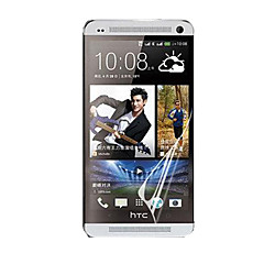HD Screen Protector with Dust-Absorber for HTC ONE/M7 (5 PCS)