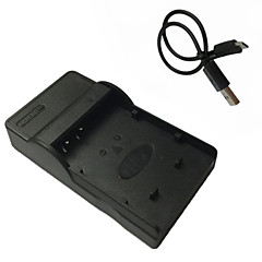 파나소닉 DMW-blh7 blh7e DMC-gf7의 GM1의 GM5를위한 마이크로 USB 모바일 카메라 배터리 충전기를 blh7e