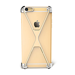 Voor Schokbestendig hoesje Bumper hoesje Effen kleur Hard Aluminium voor Apple iPhone 7 Plus iPhone 7 iPhone 6s Plus/6 Plus iPhone 6s/6