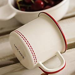 Ποτήρια, 400 Εμαγιέ Δερματί Γάλα Κούπες Καφέ Κούπες Ταξιδιού