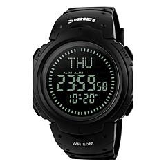 Αντρικά Γυναικεία Αθλητικό Ρολόι Ρολόι Καρπού Ψηφιακό ρολόι Ψηφιακό LED LCD Compass Ημερολόγιο Ανθεκτικό στο Νερό συναγερμού Χρονόμετρο