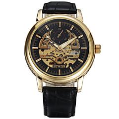 Αντρικά Γυναικεία Unisex Αθλητικό Ρολόι Ρολόι Φορέματος Μοδάτο Ρολόι Ρολόι Καρπού μηχανικό ρολόι Μηχανικό κούρδισμα ΗμερολόγιοΓνήσιο