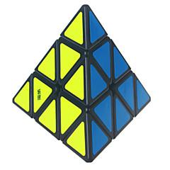 Yongjun® Cube de Vitesse  Pyraminx Vitesse Niveau professionnel Cubes magiques Autocollant lisse Yulong Anti-pop ressort réglable ABS