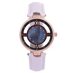 Women's Dress Watch Fashion Watch Quartz / PU Band Casual Black White