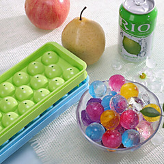 1Pc 20 Balls 2.7Cm Bar Drink Whiskey Sphere Round Ball Ice Mold Cube Maker Ice Tray Mould Bar Tool  Random color