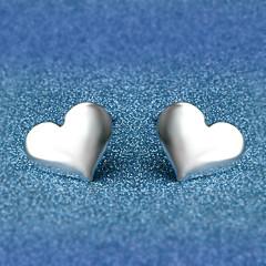 Niittikorvakorut Korut Love Hopeoitu Metalliseos Heart Shape Korut Käyttötarkoitus Häät Party Päivittäin Kausaliteetti