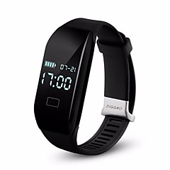 2017年には、H3スマートウォッチ心拍数のブレスレットのBluetooth 4.0歩数計カロリーの睡眠はアンドロイドiOS用スマートリストバンドを監視diggro