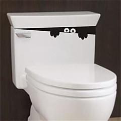 1Pcs 28Cm*4Cm  Funny Peek Monster Toilet Seat Bathroom Wall Car Decal Sticker Vinyl Art Mural