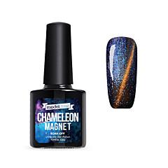 Gel UV para esmalte de uñas 10ml 1 Magnético Empapa Empapa de Larga Duración