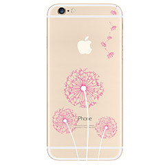 For Apple iPhone 7 7 Plus  6s 6 Plus  SE 5S Case Cover Dandelion Pattern TPU Material Painted High Penetration Simple Phone Case