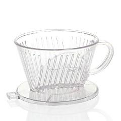 ml Akrylowy Filtr do kawy , 4 szklanki Drip kawy Producent Wielokrotnego użytku Ręczny