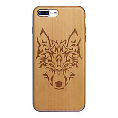 Wood Timberwolves Forest Wolf Totem Ultra-thin Back Cover iphone Case for iPhone 7plus iphone 6s 6 Plus SE 5s