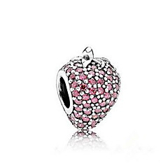 Kæde & Lænkearmbånd Natur luksus smykker Sølv Imitation Diamond Krydsformet Smykker Lys Lilla Smykker For Fødselsdag 1 Stk.