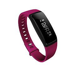 monitor ciśnienia krwi inteligentna opaska krokomierz mądry bransoletka tętno smartband bluetooth przydatności do android ios telefon