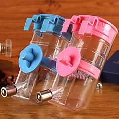 Gato Perro Cuencos y Botellas de Agua Mascotas Cuencos y Alimentación Impermeable Portátil Color Aleatorio Plástico