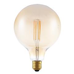 4w e27 førte glødelamper G125 4 cob 350 lm rav dæmpes dekorative ac 220-240V