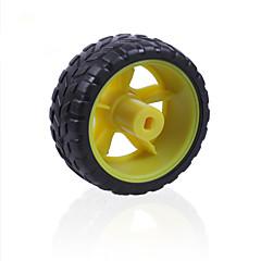 Crab Kingdom®  Wheel Smart Car Wheel Gear Motor Wheel TT Motor Tyres
