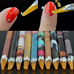 1PCS Nagelkunst sticker Franse nagels gids make-up Cosmetische Nagelkunst ontwerp