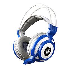 sades sa-905 rezgő funkció mély basszus Fone de ouvido pro gaming fejhallgató 7 színű led játék fülhallgató mikrofonnal pc gamer