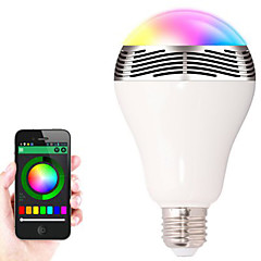 BL-05 Wireless Bluetooth 4.0 Speakers RGB LED Bulb Color Changing Smart LED Light Audio Speaker For IOS/Android/Tablet