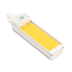 9W G24 LED 콘 조명 1 COB 800-900 lm 따뜻한 화이트 차가운 화이트 장식 AC 85-265 V 1개