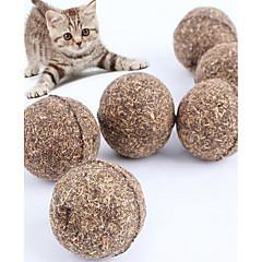 Kissan lelu Koiran lelu Lemmikkieläinten lelut Kissanminttu Narulelut Kestävä Puu Ruskea
