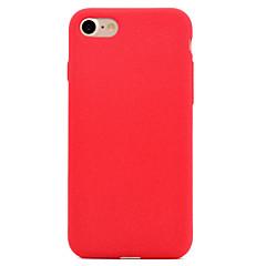 Varten Himmeä Etui Takakuori Etui Yksivärinen Pehmeä Tekstiili varten AppleiPhone 7 Plus iPhone 7 iPhone 6s Plus/6 Plus iPhone 6s/6